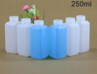 square acid reagent - ml g Square HDPE Acid and Alkali Resistant Small Cap Plastic Bottle Liquid Bottle Reagent Bottle