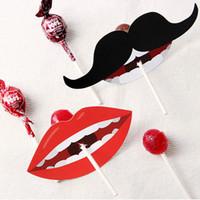 big lollipop candy - lollipop paper candy paper Big red billed Black beard lollipop decoration kids gift wrap only paper