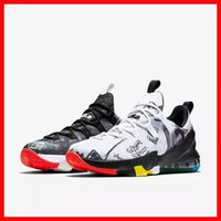 Cheap cheap 2016 new release lebron basketball shoes men 13 low lebrons family foundation multi colorful mens sport running sneakers with box