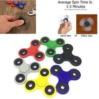 Multicolor big bears toys - The Anti Anxiety Spinner Fidget Toys Prime Finger Spinner Hand tri spinner HandSpinner EDC Toy For Boredom Ceramic Cube Bearing