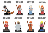 Wholesale harry Potter Friends Hermione Jean Granger Ron Weasley Lord Voldemort Ginny Death Eater Minifigures Building Blocks x129