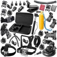 Cámara de acción de sony Baratos-GoPro accesorios 34 en 1 montaje para Sony Acción cam HDR AS15 AS20 AS200V AS30V AS100V AZ1 mini FDR-X1000V / W 4 k