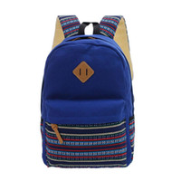 ad6017c1b8 Wholesale- Brand Korean Canvas Printing Backpack Women School Bags for  Teenage Girls Cute Rucksack Vintage Laptop Backpacks Female. 35% Off