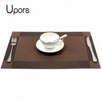 plastic table settings Canada - Upors 4pcs set Placemats for Dining Table Pad Vintage Plastic PVC  sc 1 st  Buy China Wholesale Products on webTTF.com & Plastic Table Settings Canada | Best Selling Plastic Table Settings ...