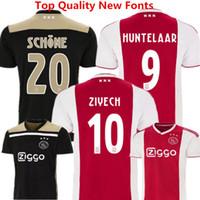 03f3590254b Soccer Jersey Ajax Football Clothes 2018 2019 Netherland League Ajax  Maillot de foot KLAASSEN MILIK VAN BASTEN ZIYECH DOLBERG Away Kids Kits