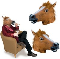 Horse Head Vizard Masquerade Masks Novelty Latex Rubber Face Mask For Halloween Christmas Party Costume Supplies Funny  sc 1 st  China Wholesale & Horse Face Mask Canada | Best Selling Horse Face Mask from Top ...