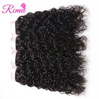 Wholesale Rcmei Mongolian Water Wave Bundles Naural Color Unprocessed Hair Bundles Human Hair Mixed Length quot