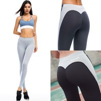 Wholesale sexy yoga pants - Hot sell women fitness leggings running pants female sexy slim trousers lady dance pants New Style Soft Material Yoga legging