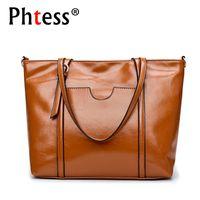 cbb78baed6 2018 Luxury Leather Handbags Women Bags Designer Large Capacity Tote Bags  Female Sac a Main Ladies Hand Crossbody Shoulder