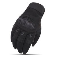 Tactical Gloves Touch Screen Hard Knuckle Slip Outdoor Riding Fitness Protective Full Finger Army Combat Motorcycle Gloves for Men Women