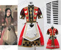 Wholesale Alice Madness Returns Poker Dress Cosplay Costume