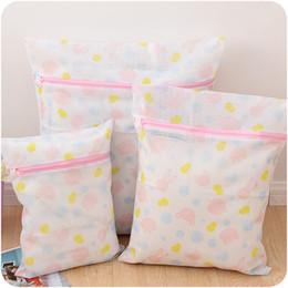Wholesale Delicates Wash Bags SET OF Mesh Garment Bra Laundry Bag For Washing Machine Dryer Lingerie Washer