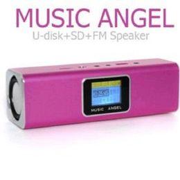 Acheter en ligne Le sport pc-Mini Président Music Angel U Disque TF Carte FM LCD Paroles MP3 Lecteur MP3 Haut-parleur pour MP3 MP4 CD DV iPhone Cellulaire Tablet PC GPS, PSP