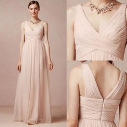 2016 Peach Bridesmaid Dresses for Cheap V Neck Cross Ruffles Bodice Plus Size Mint Prom Party Dresses