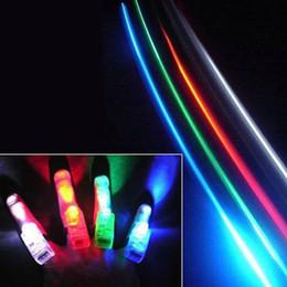 2016 laser conduit doigts Vente en gros - 100pcs 4x LED de Couleur laser doigt poutres partie Lumineuse anneau de doigt de laser de lumières avec retai livraison gratuite TY623 laser conduit doigts ventes