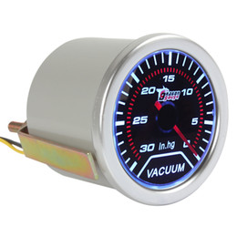 Wholesale 2 quot mm Vacuum Meter Guage for Auto Car with Led Light Display CEC_524