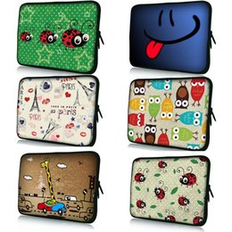 Wholesale Fashion Accessories Tablet PC Bag For quot quot quot quot quot quot quot inch neoprene Notebook protective Netbook sleeve Painted Laptop Cover