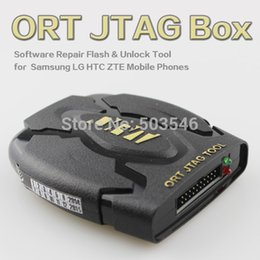 Wholesale ORT Jtag Box Software Repair Flash Unlock Tool for Samsung LG HTC ZTE Mobile Phones and