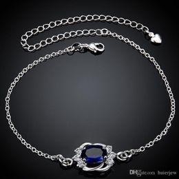 Foot Jewelry Anklet Silver 925 Hamsa Anklets for Girlfriend Bracelet .925 Silver Boho Jewelry Leg Bracelet 925 Sterling Silver Korean Anklet
