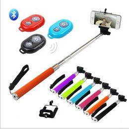 Wholesale Self bar phone Bluetooth wireless remote control camera shutter artifact Andrews Universal shipping