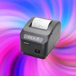 Wholesale 6pcs free fedex xprinter mm lan or usb port auto cutter printer thermal printer POS receipt printer