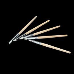 Wholesale set BQAN Nail Brushes Carving Drawing Brush Sculpture Pen Painting Wooden Handle Gel Nail Art Brush Kit Manicure Nail Tool