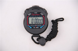Wholesale Brand Anytime Digital Sports Stopwatch Electronic Chronograph handle Counter timer water resist 1 row 2 memory XL-013