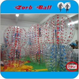 Wholesale NEW ARRIVAL For Rental Business m mm TPU zorb bubble soccer inflatable football bubble suit Bumper Ball Loopy Ball
