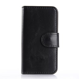 Wholesale For Iphone5 Iphone case S Case edge plus cases Wallet PU Leather Case Bank Card Holder Genuine Leather Case Supports Customized Services