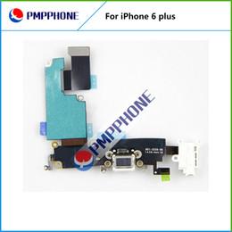 Cargos cables iphone en Línea-Buena calidad para el iPhone 6 Plus 5,5 pulgadas de carga del puerto de conector Dock Flex Cable con el envío rápido