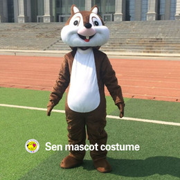 Wholesale Squirrel Mascot Costumes - High quality adult mascot costume squirrel squirrel mascot costumes performing carnival costumes