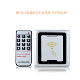 Wholesale New Arrival Users KHz RFID Metal Anti vandal Keypad Access Control Support Copy Data Directly Between Two Same Models