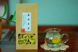 Wholesale Flower Tea About China Chrysanthemum Tea Individual Vacuum Tea Artistic Blossom Flower Chrysanthemum Buds Health Tea Benefits