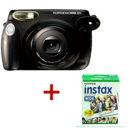 Wholesale Film Camera Instax Instant Film Photo Polaroid Camera Wide Picture Format Black Wide Film Camera Pack total shots Instax Wide