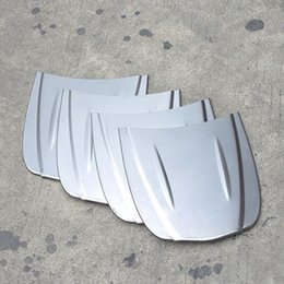 Wholesale 30 cm metal car speed shape mini car bonnet mini hood custom paint sample model for Auto Body glass coating display MX M