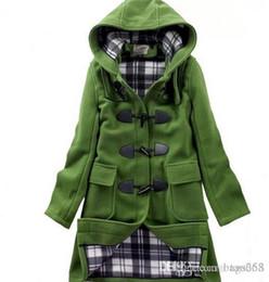 Girls Wool Duffle Coat - Coat Nj