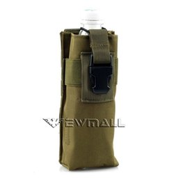 Wholesale Outdoor Military Tactical Army Molle Combined Open Top Water Bottle Pouch Bag For Climing Hiking