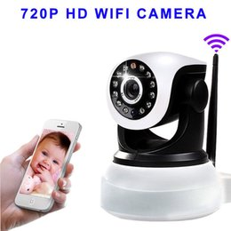 Wireless Pan Tilt 720P Security Network CCTV IP Camera Night Vision WIFI Webcam Security Box Camera 720P HD Wifi Camera