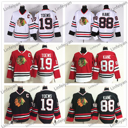 Wholesale Cheap Top Quality Men s No KANE Hockey jersey Chicago Blackhawks Authentic NHL jersey Mixed order