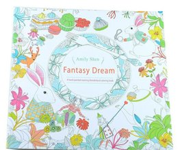 Wholesale secret garden PrettyBaby coloring book painting drawing book Pages Animal Kingdom Enchanted Forest Relieve Stress For Children Adult