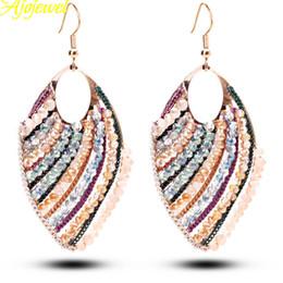 010 2015 trendy ladies gold drop earings jewelry luxury big women earrings with crystals