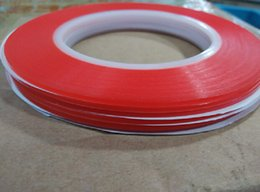 Compact High Strength Acrylic Gel Adhesive Double Sided Tape 3mm*25m Red Double Sided Adhesive Tape Sticker For Phone LCD Screen