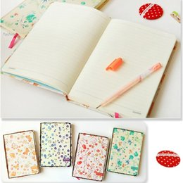 Wholesale 128 Pages New Fashion Creative Stationery Pastoral Gift Journal Print Diary Daily Planner Book Notebook x x cm