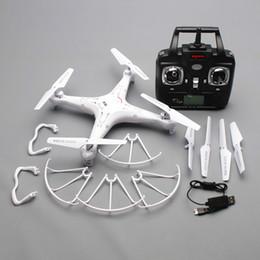 Promotion meilleurs drones de la caméra Gros-quadrocopters Syma x5C distance hélicoptère de contrôle RC quadcopter SyMa x5 voler ar drone sans appareil photo meilleur cadeau pour les garçons