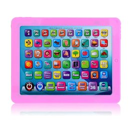 Wholesale Touch Screen Multimedia Learning System Learn Machine for Kids Children Blue Pink