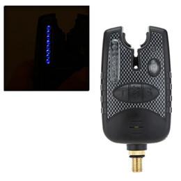 Water Resistant 8 LEDs Fishing Alarm Adjustable Tone Volume Sensitivity Sound Alert Fishing Bite Alarm for Fishing Rod