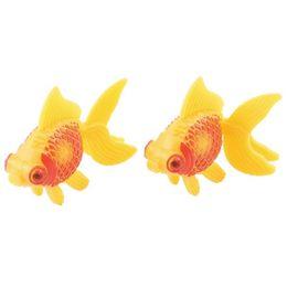 Wholesale Fish Tank Aquarium Plastic Simulated Artificial Decor Faux Fantail Goldfish Decoration Accessories Ornaments Background