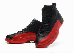 Wholesale COOL Black Red nice Basketball Shoes Men Athletic Shoes High Quality Best Sport Shoes Sneakers For Man Size
