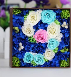 Wholesale Eternal hot sales roses The representative loves Christmas day gift wedding present Emotion gift box