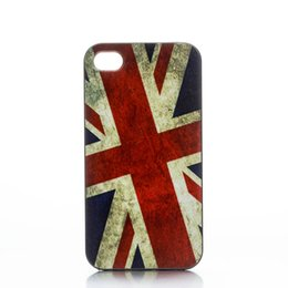 Wholesale Fashion The Union Jack Design Hard Plastic Mobile Phone Case Cover For iPhone S S C